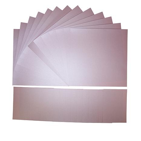 Anna Griffin® 72-piece Metallic Cardstock Bundle