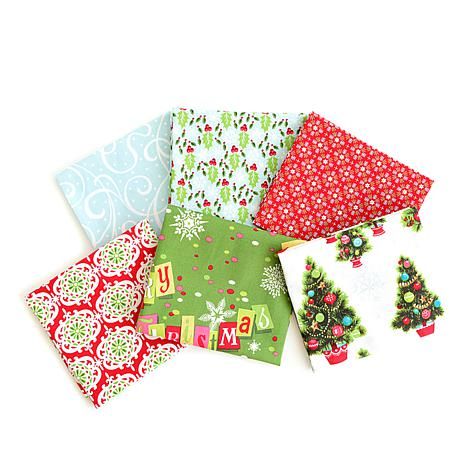 Anna Griffin® Christmas Kitsch Fat Quarters 6-piece
