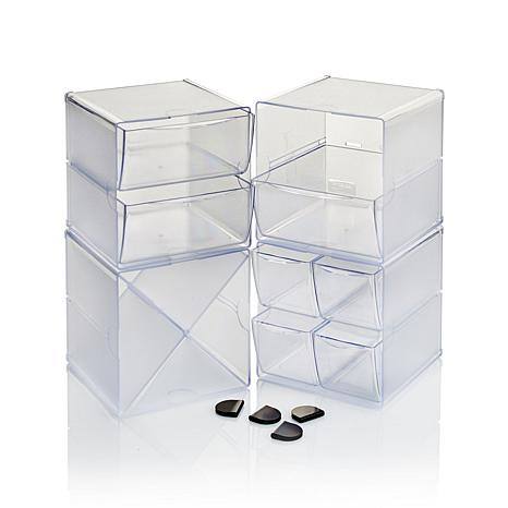Anna Griffin® Deflecto Stacking Cubes 4-piece Set