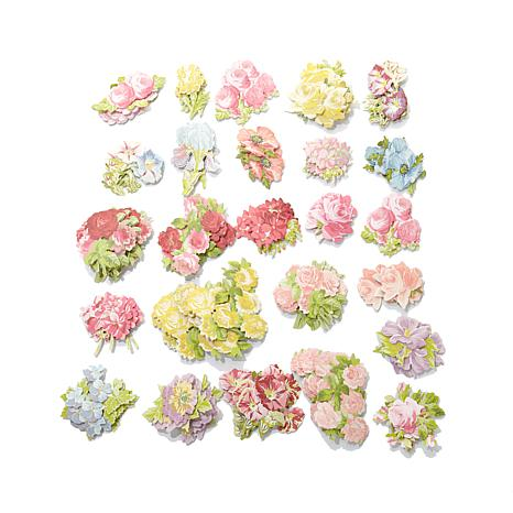 Anna Griffin® Favorite Flowers Embellishment Stickers