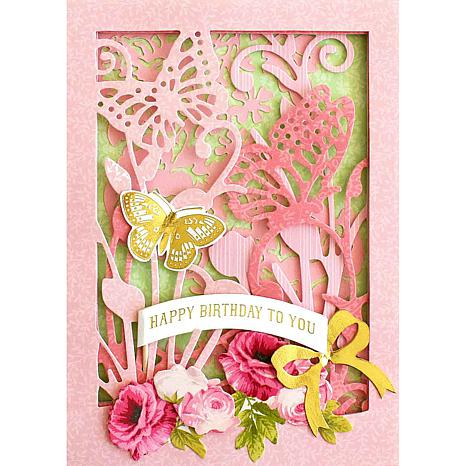 Anna GriffinR Layered Scenes Card Making Kit