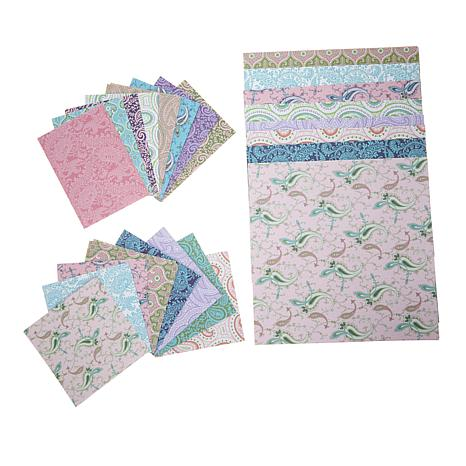 Anna Griffin® Paisley Pattern Variety Size Cardstock