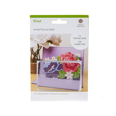 Anna Griffin® Pop-up Cards Digital Cricut® Cartridge