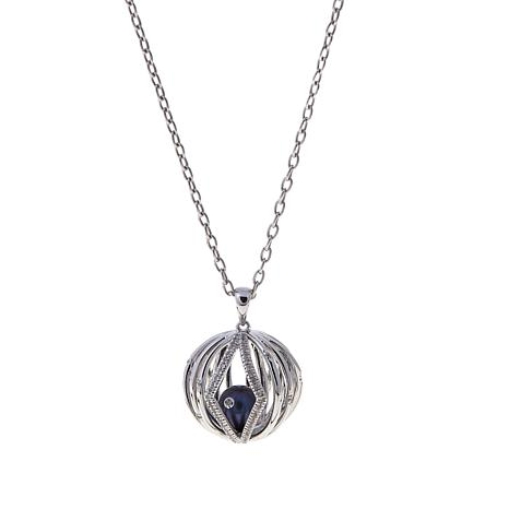 "Anne Geddes ""Eternal"" Cultured  Pearl Ball Pendant"
