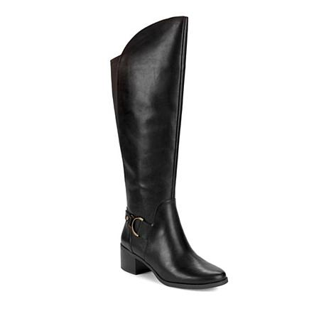 Anne Klein Jamee Leather Riding Boot