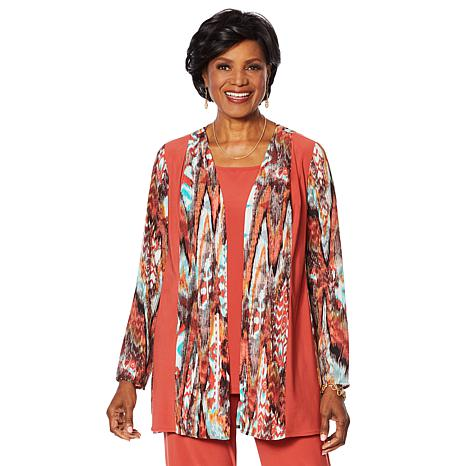 Antthony 2-piece Jacket and Cap-Sleeve Top