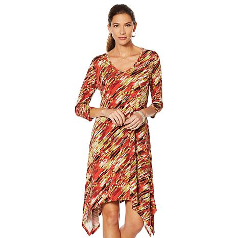 "Antthony ""Culturally Styled"" Hanky Hem Dress"