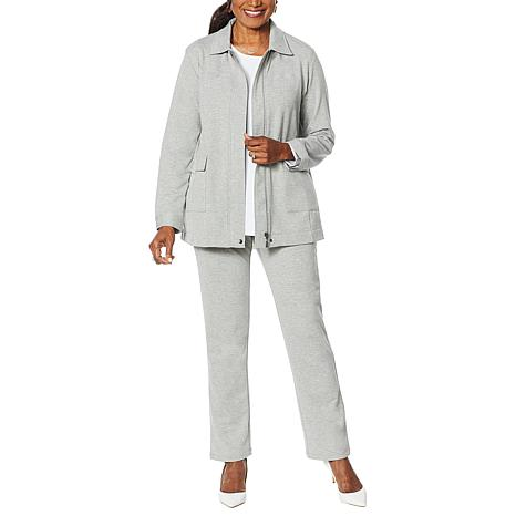 Antthony French Terry Leisure Jacket and Pant Set