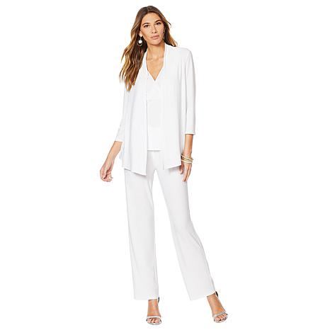 """Antthony """"Modern Moda"""" 2-piece Twofer Top and Pant Set"""