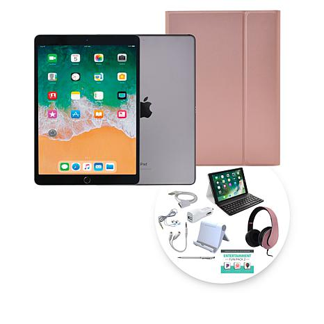 """Apple iPad Air® 10.5"""" 64GB Space Gray Tablet with Keyboard Case"""