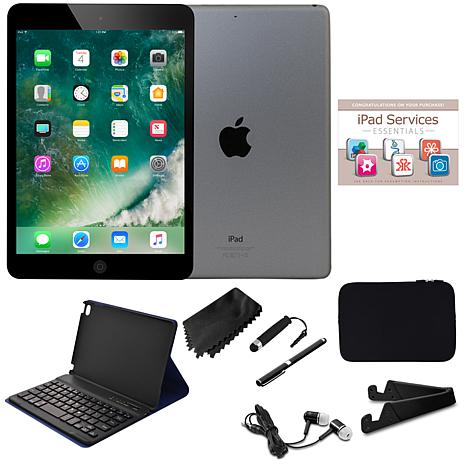 Apple iPad mini™ 4 128GB Wi-Fi+Cellular Tablet Bundle