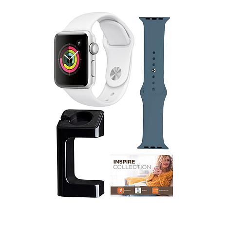 Apple Watch® Series 3 38mm with GPS and Extra Band - Silver