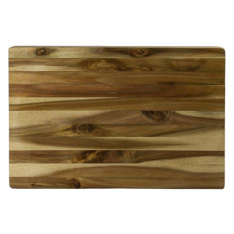 Architec Concave Gripperwood Rectangle Acacia Cutting Board 13x19 9695553 Hsn