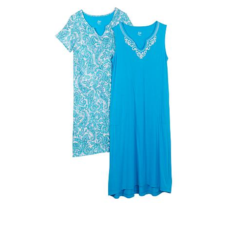 Aria 2-pack Ultra Jersey Gowns with Pockets