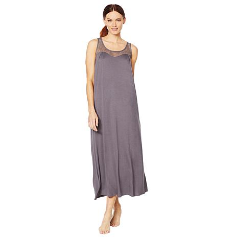 Aria Soft Touch Jersey Solid Long Gown - 8835251  247e5deaa