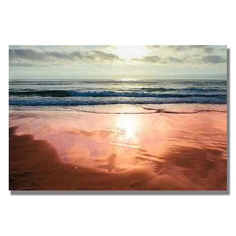 Ariane Moshayedi 'Costal Reflections IV' Canvas Art
