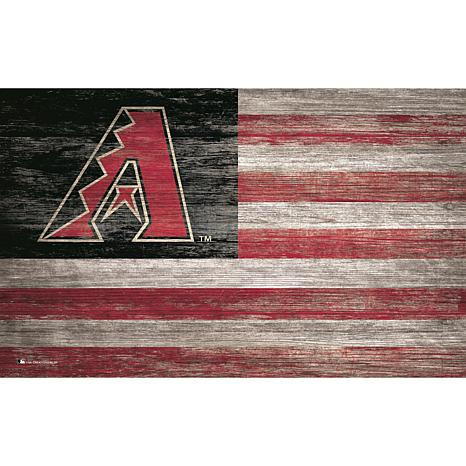 Arizona Diamondbacks Distressed Flag 11x19