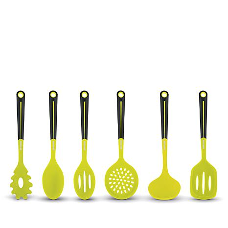 Art and Cook 6-piece Silicone Kitchen Utensil Set