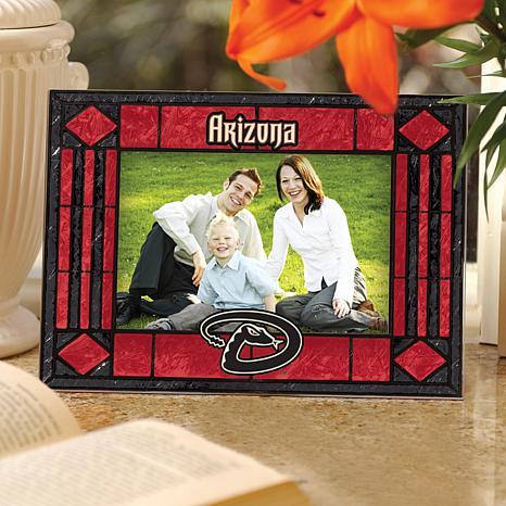 Art Glass Horizontal Picture Frame - AZ Diamondbacks