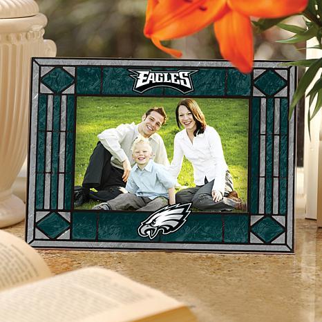 Art Glass Picture Frame - Philadelphia Eagles