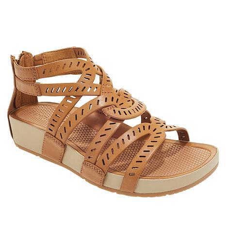 """As Is"" Baretraps® Lorra Gladiator Sandal   with Rebound Technology™"