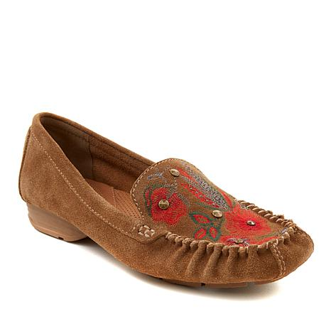 """""""As Is"""" Baretraps® Otella Embroidered Suede Loafer"""