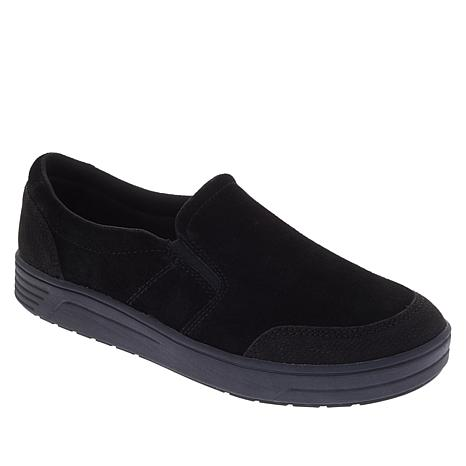 """As Is"" easy spirit Nutmeg Leather Casual Slip-On"