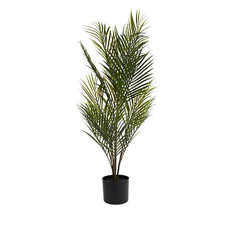 """""""As Is"""" Improvements Indoor/Outdoor 39"""" Faux Potted Palm Tree"""