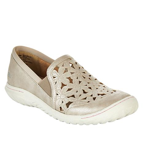 """As Is"" JBU by Jambu Wildflower Moc Slip-On Flat"