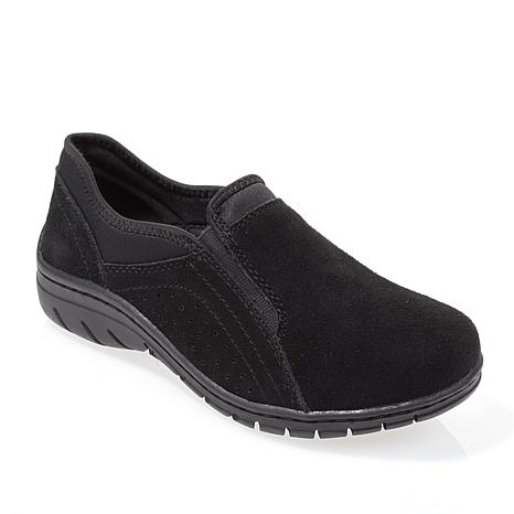 """""""As Is"""" Sporto® Max Water-Repellant Suede Slip-On Shoe"""