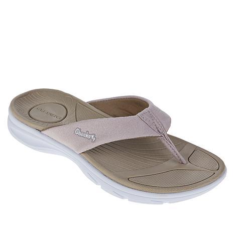 """As Is"" Tony Little Cheeks® Cushys Thong Sandal"