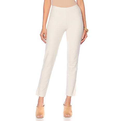"""As Is"" WynneLayers Essential Crepe Full-Length Pant"