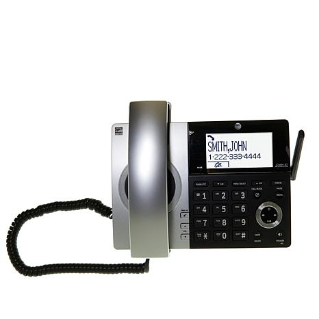 At T Dect 6 Corded Cordless Phone System With 4 Handsets