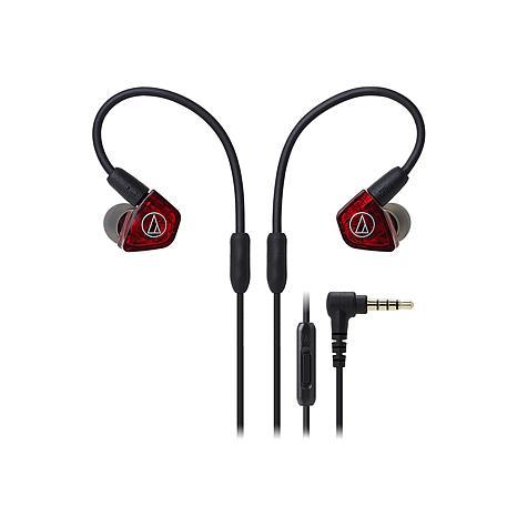 Audio-Technica LS200iS In-Ear Dual Armature Driver Headphones