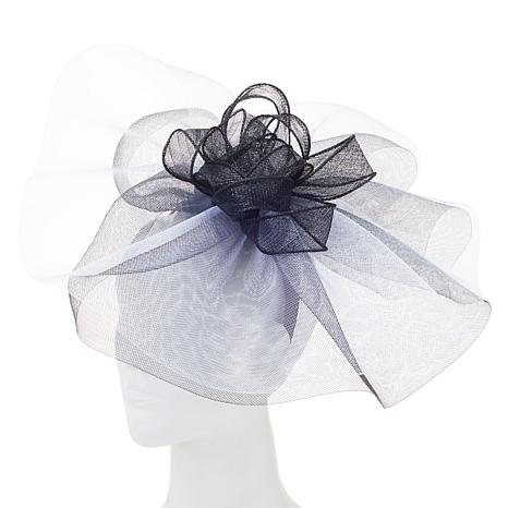 August Hat Company Fine Millinery Tulle Fascinator