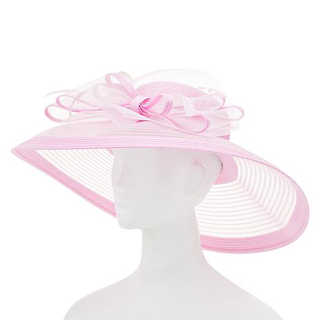August Hat Company Fine Millinery Wide-Brimmed Dressy Hat