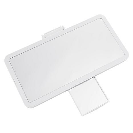 Auto Visor Illuminating Fold Down Makeup Mirror