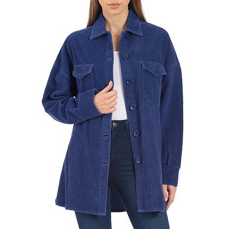 Avec Les Filles Oversized Corduroy Shirt Jacket