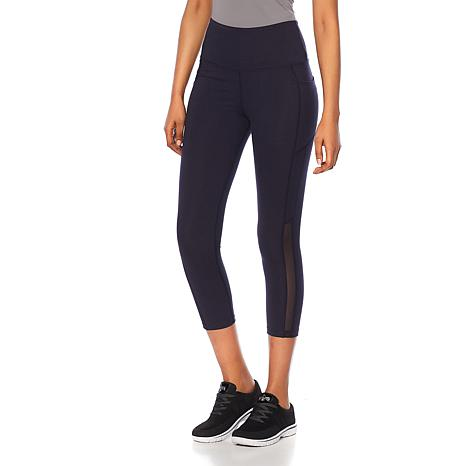 Balance by Marika Power Mesh Ankle Legging with Side Pockets