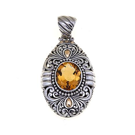 necklace products mudra oval pendant the milky image