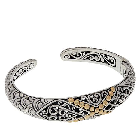 95cf50bbd Bali Designs Sterling Silver and 18K Gold