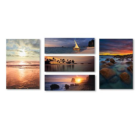 Beach Scenes Wall Collection' Multi-Panel Art