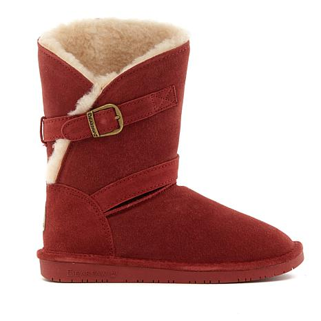 BEARPAW® Annie Suede Sheepskin Boot with NeverWet™