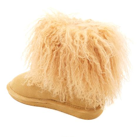 d9db2cd4012 BEARPAW® Boo Suede and Curly Lamb Boot