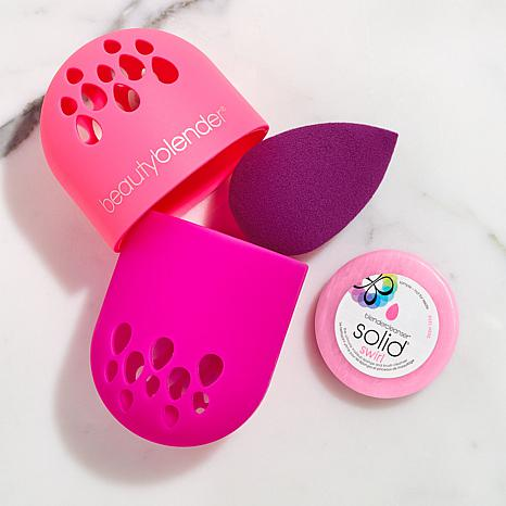 beautyblender® Amethyst Blend & Carry Set