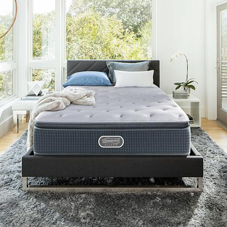 beautyrest silver plush pillowtop mattress set t