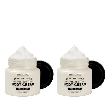 Beekman 1802 Fresh Air Goat Milk Whipped Body Cream Duo - 8 fl. oz.