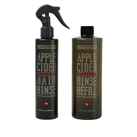 Beekman 1802 Goat Milk Apple Cider Hair Rinse with Jumbo Refill