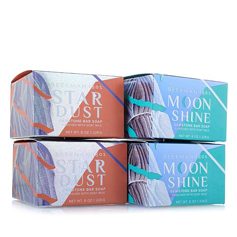 Beekman 1802 Goat Milk Shimmer Bar 4-piece Assortment