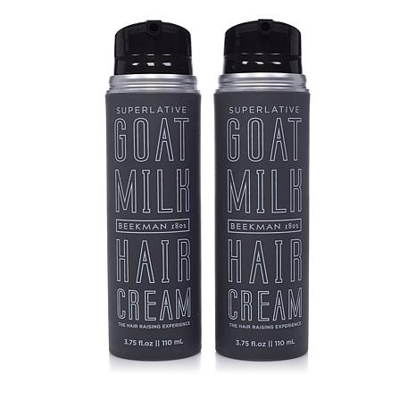 Beekman 1802 Goat Milk Superlative Hair Cream Duo